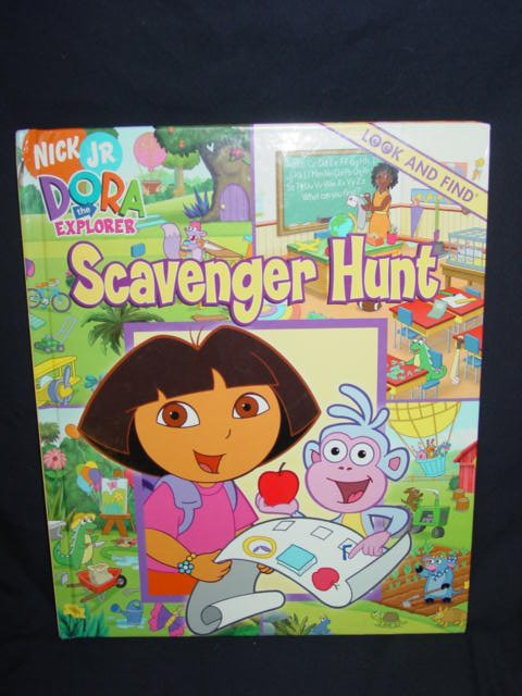 Nick Jr. Dora the Explorer SCAVENGER HUNT - Look and Find
