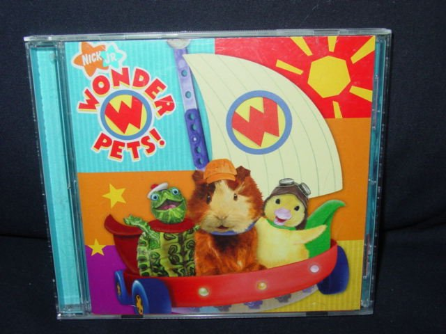 Nick Jr. - Wonder Pets! Music CD