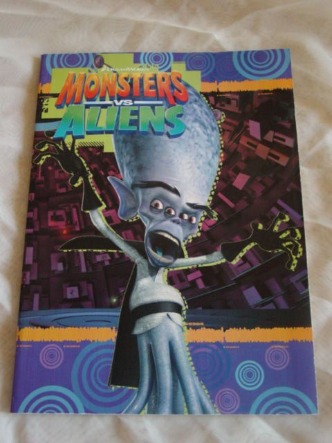 Monsters VS Aliens Coloring and Activity Workbook