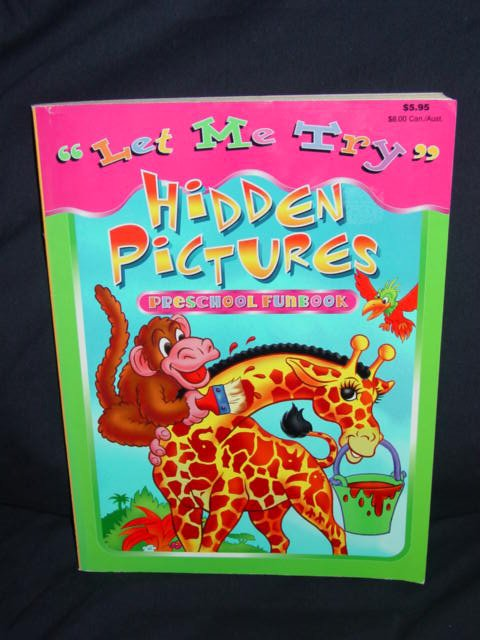 """""""Let Me Try"""" Picture Puzzles Preschool Funbook"""