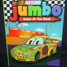 Nascar Jumbo Color & Fun Book