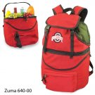 Ohio State Embroidered Zuma Picnic Backpack Red