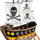JooJoo Plush 16 Inch Pirate Ship