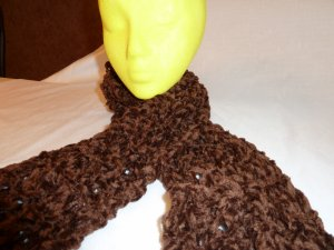 Dark Chocolate Extra Long Scarf