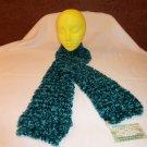 Dark Teal Plush Scarf