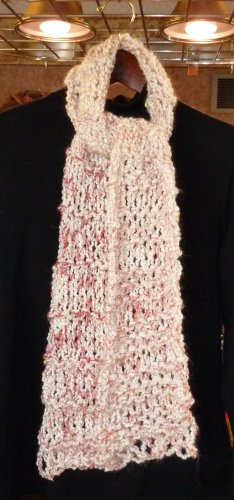 Cotton Candy Varigated Scarf
