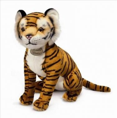 "Large Russ Yomiko Tiger Stuffed Animal Plush 20"" NWT"