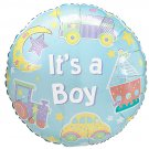 18 Inch Mylar Its a Boy Balloon