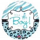 Its a Boy Safari Balloon 18 Inch Mylar