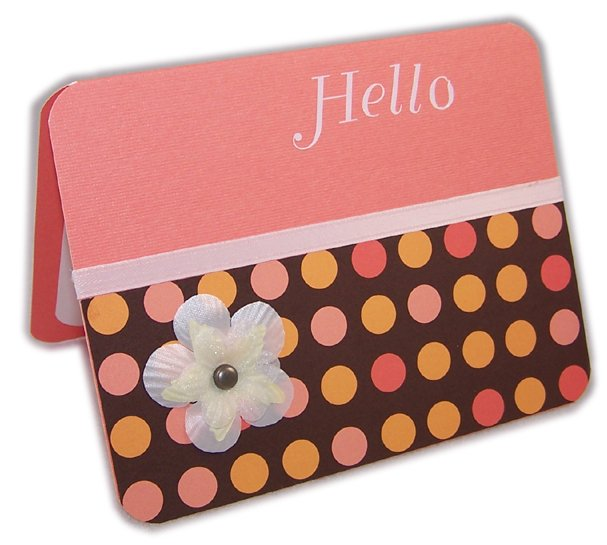 """Hello"" Greeting Card"