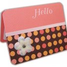 """Hello"" Greeting Card"