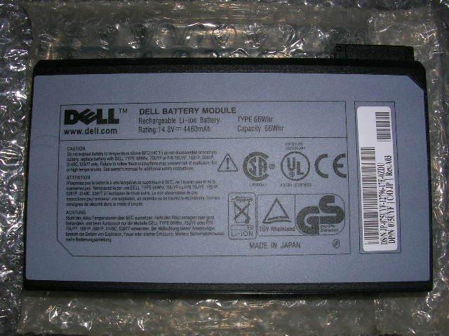 Dell inspiron 2500 3700 3800 4000 8000 Latitude C CP CPi CPt CPx Battery 1691P 3149C 75UYF 4460MAH