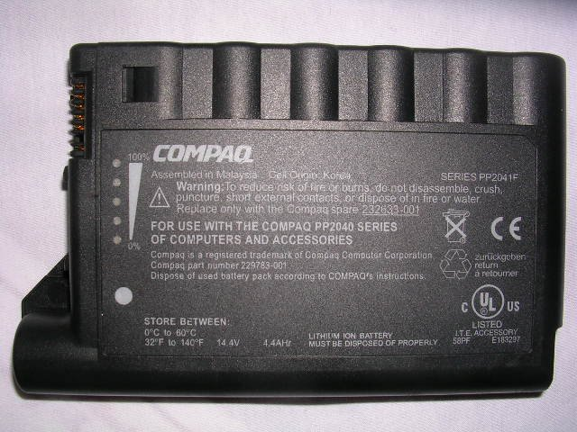 New Compaq Laptop Battery EVO N600 N600C N610C N620c
