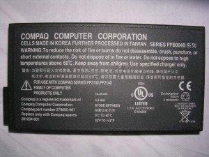 Compaq Presario 2800 2800CA 2800T 2800US  900 1500 N1000 N800 N160 17XL Battery HP NC6000