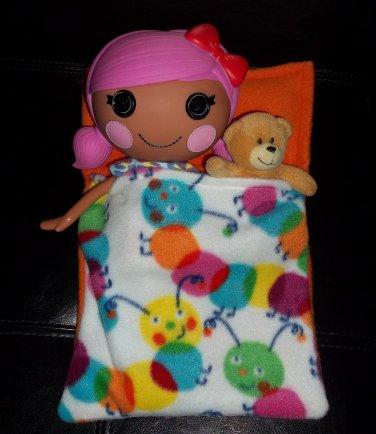 Full Size Lalaloopsy Doll and Sleeping Bag