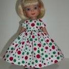 """Christmas Dots in July Dress for Ann Estelle, Patsy 10"""""""