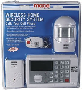 MACE WIRELESS HOME SECURITY SYSTEM