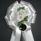 Western Cowboy Pew Bows - Wedding Decraotions