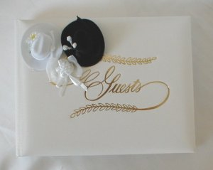 WESTERN Cowboy Guest Book -Wedding-