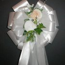 REAL SEASHELLS (Beach) Pew Bows - Wedding