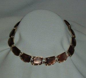 Vintage Coro Lucite Moonstone Necklace