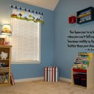 Dr seuss you know you're in love Wall Art vinyl decals love kids bedroom letters wall sayings