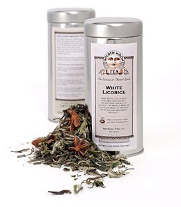White Tea - White Licorice - 1 (1.5oz) Tin