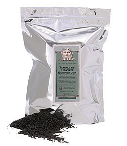 Green Tea: Temple of Heaven Gunpowder - 1lb Bag
