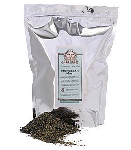 Green Tea: Moroccan Mint - 1lb Bag
