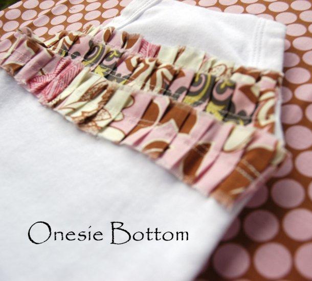 Onesie Size 9-12 Months Handmade in the I Heart Mom Design