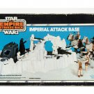 Star Wars ESB Vintage Boxed Playset 1980 Imperial Attack Base AFA 75 EX+/NM #11659778
