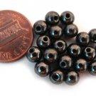 20 Magnetic Hematite Beads 5mm