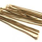 20 Silver plated Headpins / Head Pins 5mm