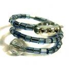 Handmade Ring #7 - Blue Beads