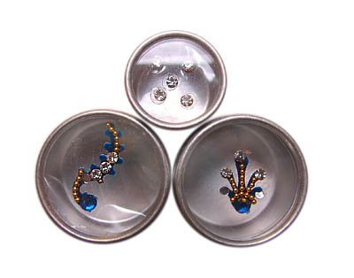 Body Jewelry - Blue Set