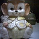 Teddy bear cookie jar