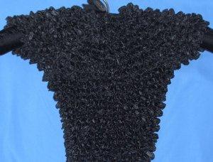 Popcorn shirt - Jet Black