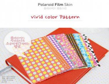 Fujifilm Instax Mini Polaroid 7s 8 25 50s 90 Film Skin Sticker Frame 20 pcs/pack Vivid