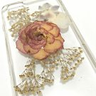 Handmade Dry Whole Flower Iphone cellphone case Unique