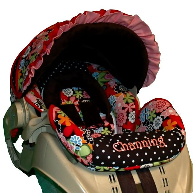 Custom Replacement Infant Car Seat Cover Joy Includes