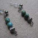 Tiny Turquoise Earrings
