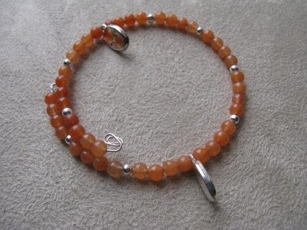 Orange Trust Recovery Bracelet