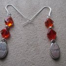 Orange Create Earrings