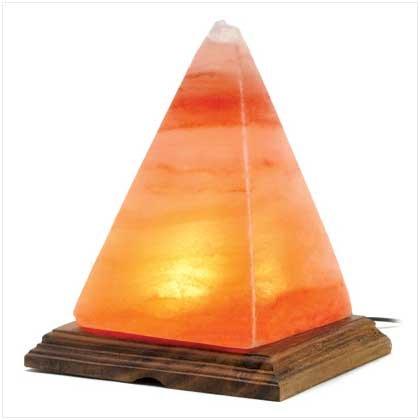 #13810 Natural Salt Table Lamp