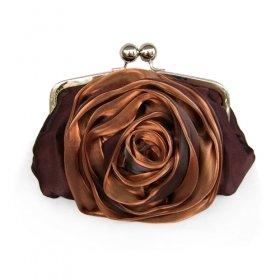 Gorgeous Satin Evening Bag Handbag Purse Clutch