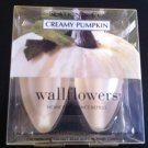 Bath and Body Works Creamy Pumpkin Wallflowers 2 Bulb