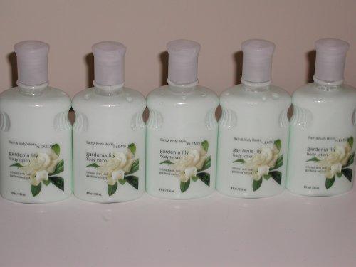 Bath & Body Works Pleasures Gardenia Lily Body Lotion 8 Oz - Lot of 5