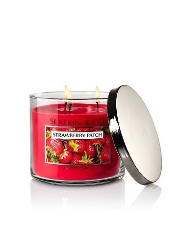 Bath and Body Works Slatkin & Co Strawberry Patch Scented Candle - 14.5oz Filled