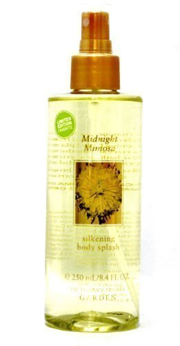 Victoria's Secret Garden Limited Edition Midnight Mimosa Silkening Body Splash 8