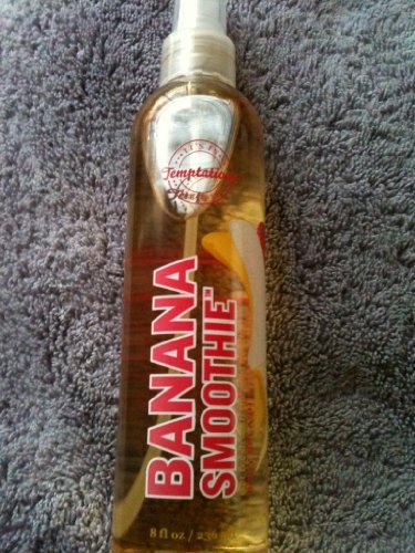 Bath & Body Works Temptations Banana Smoothie Body Splash - Discontinued, Rare &